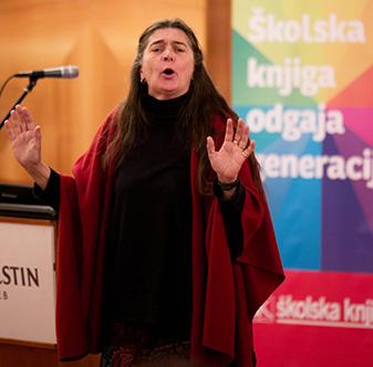 Jasna Held, profesionalna pripovjedačica narodnih bajki i priča