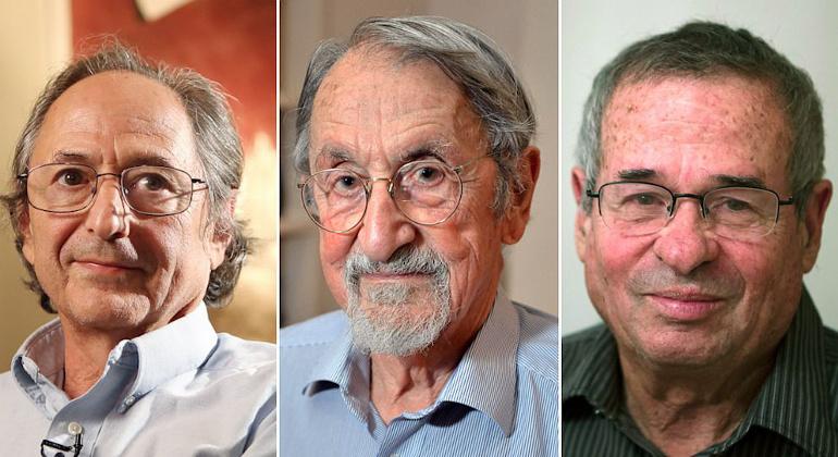 Michael Levitt, Martin Karplus i Arieh Warshel