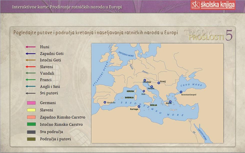 Karta povijest