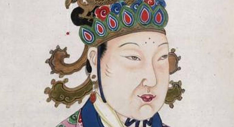 Carica Wu u starijoj dobi