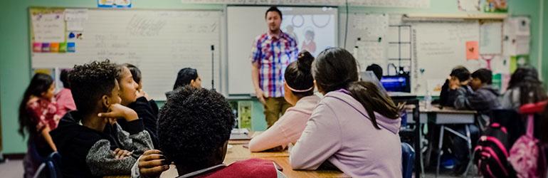 Internetska stranica za spajanje učenika