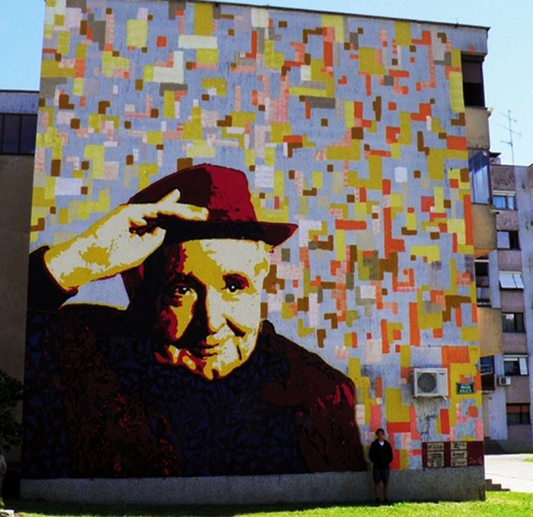 Kolski portal ju er danas sutra krle i u ast for Mural u vukovarskoj ulici