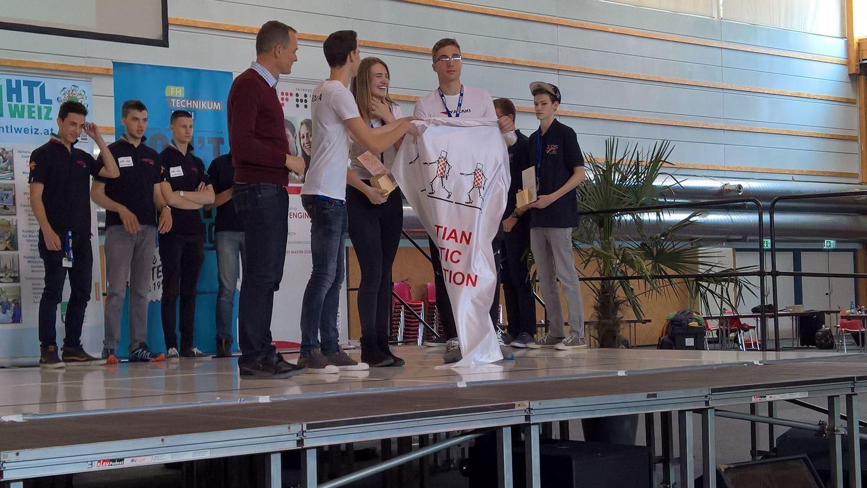1. mjesto ekipa YAZAKI CROATIA