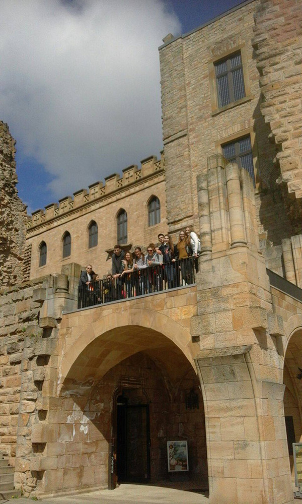 Nakon povratka iz Heidelberga navratili smo do dvorca Hambach
