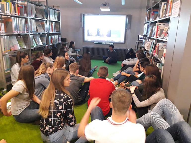 Goethe-Institut Zagreb često nam organizira zanimljive radionice vezane za aktualnu projektnu temu