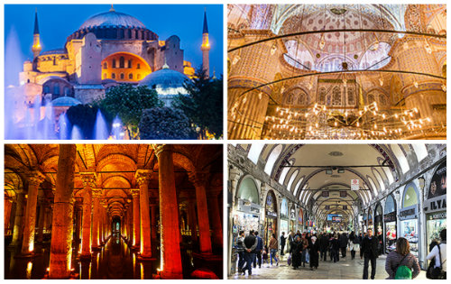 Kolaž istanbul