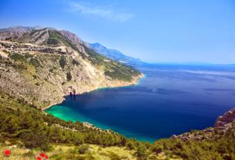 Pogled na jadransku obalu